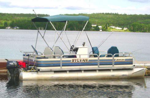 ponton boat