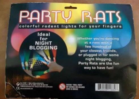 PARTY RATS
