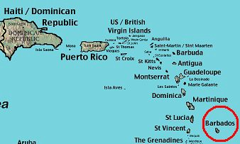 David Brooks Haiti V Barbados