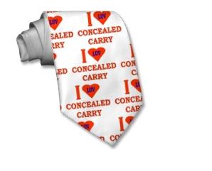 conceal tie