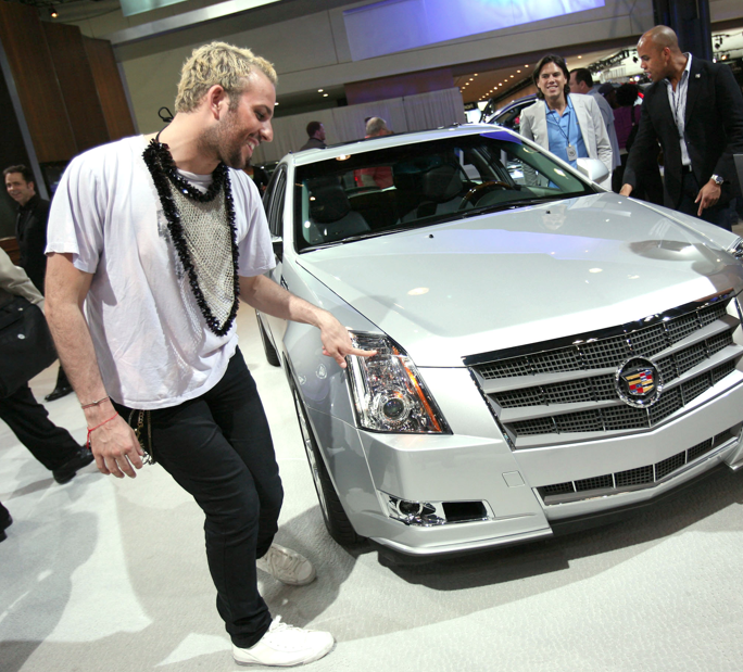 MICAH JESSE FINGERS HIS CADILLAC