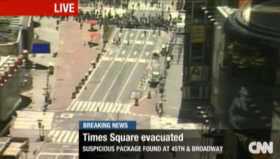 TIMES SQUARE RIGHT NOW