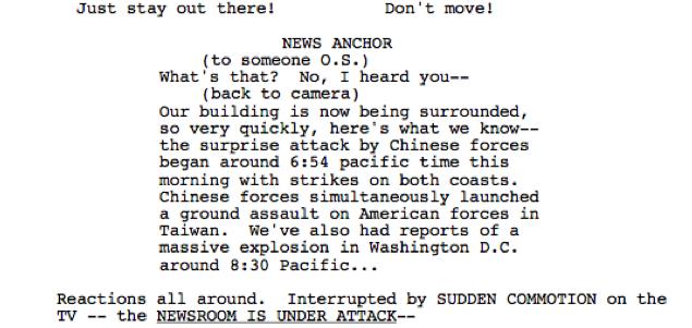 script invasion