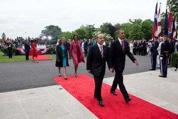Calderon and Obama