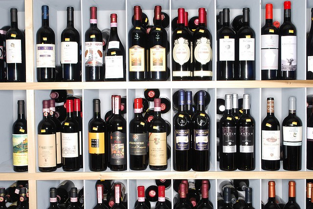 OMG ALL THIS WINE HOW AM I SUPPOSED TO CHOOSE