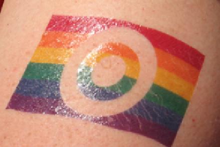 target pride rainbow