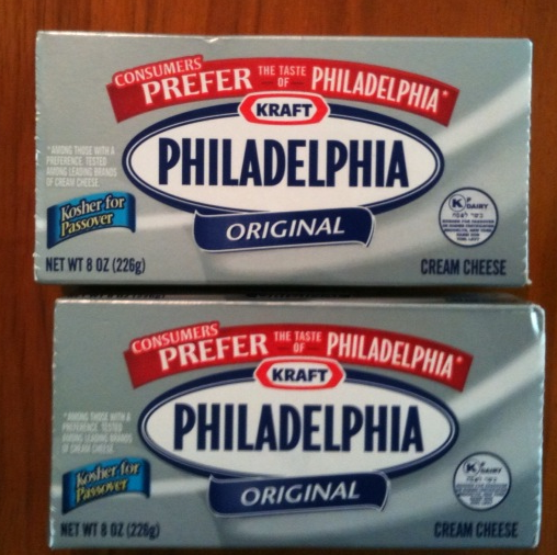 NEARLY-EXPIRED CREAM CHEESE?