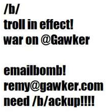 Helpful Explanations: Understanding the Gawker v  4chan