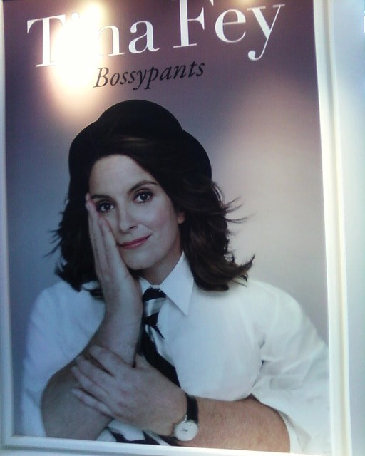 TINA FEY: BOSSYPANTS!