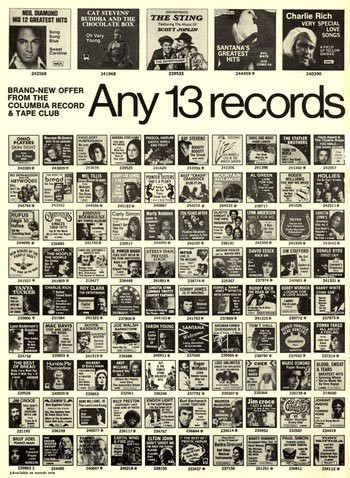 It Was Through Columbia Houseu0027s Mail Order Catalogs That I Received All The  Nirvana, Soundgarden And Belly Albums I Could Get My Hands On.