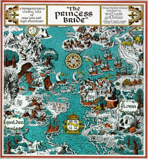 The Maps We Wandered Into As Kids - The Awl Illuminated Maps on