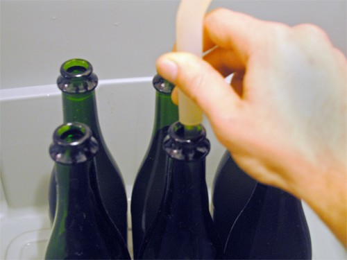 how to make wine out of apple juice