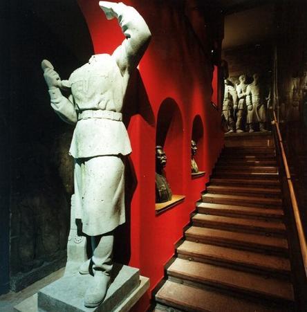 Kabinet voštanih figura