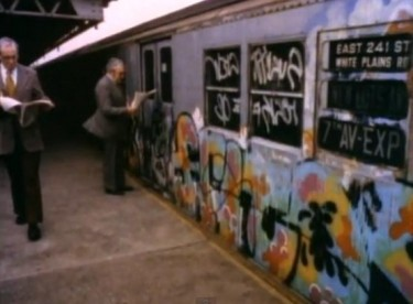 Thirty Years Ago At The Height Of New York Citys War On Graffiti And In An Act Of Faith Utterly Incommensurate With The Citys Public Demonization Of