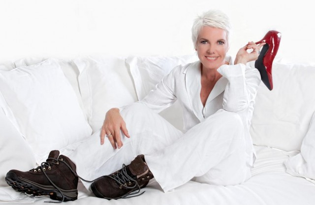 Kathy Andersen, author, 'Change Your Shoes, Live Your Greatest Life.'