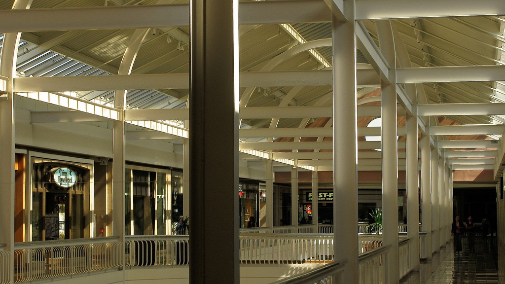 Collin creek mall food court