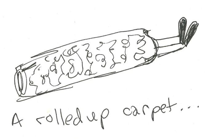 rolledupcarpet