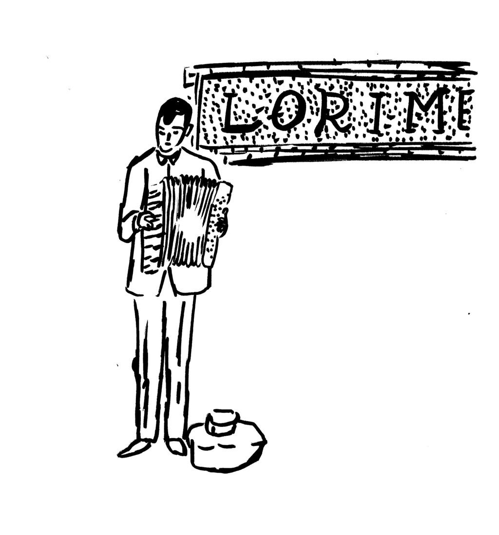 accordian lorimer