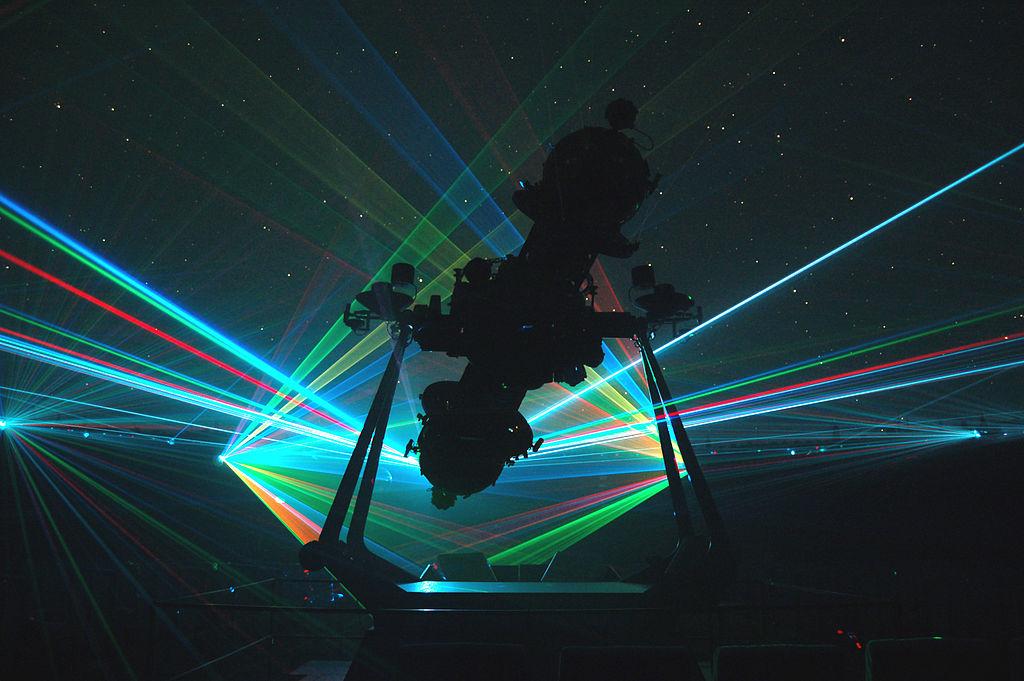 nyc planetarium laser light show