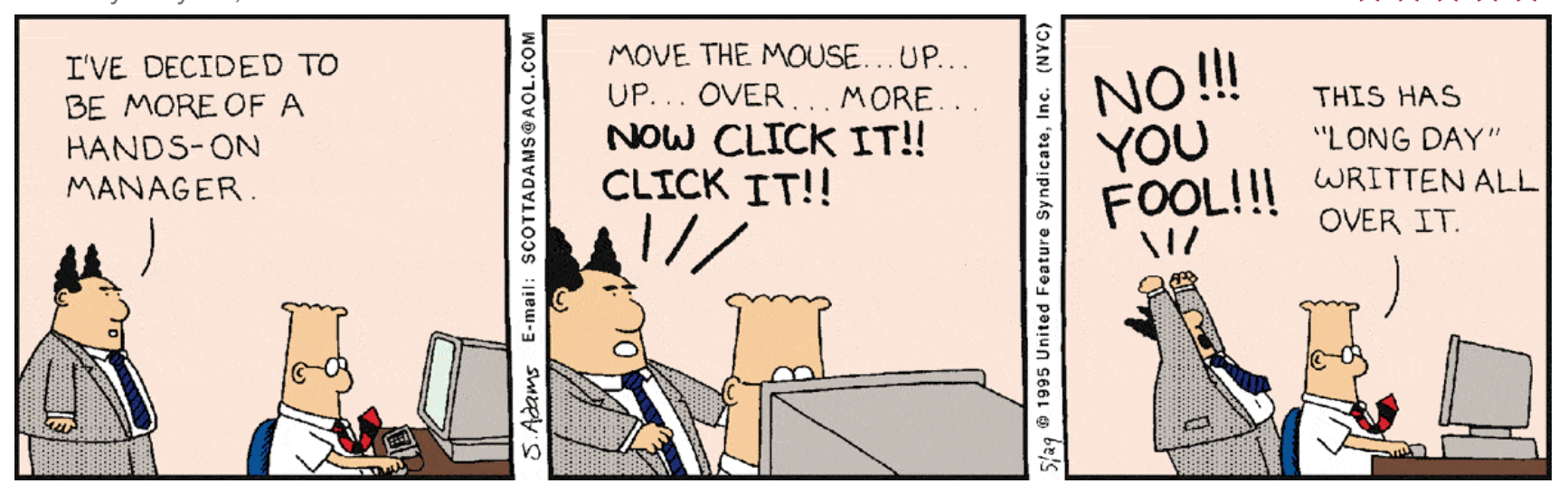 Dilbert A Reckoning The Awl