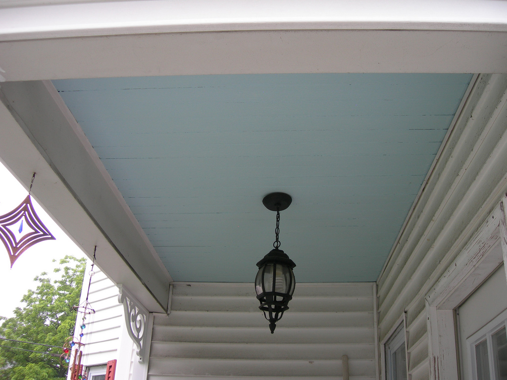 Haint Blue The Ghost Tricking Color Of Southern Homes And